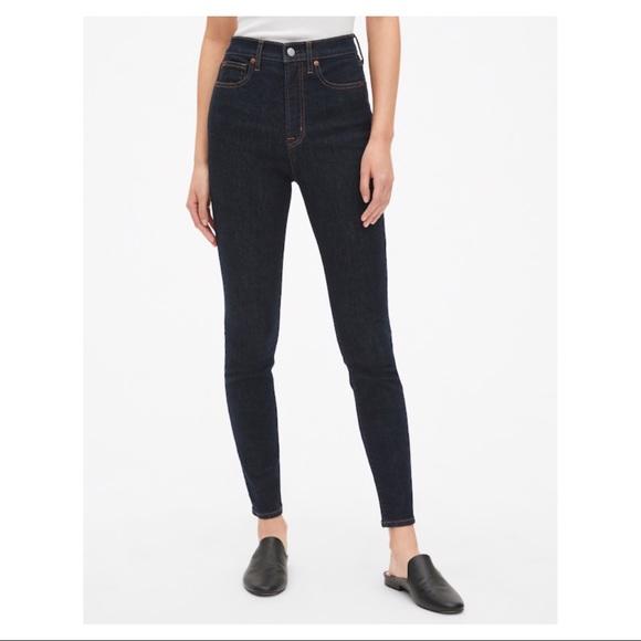 GAP Denim - GAP 30R Skinny Super High Rise Jeans
